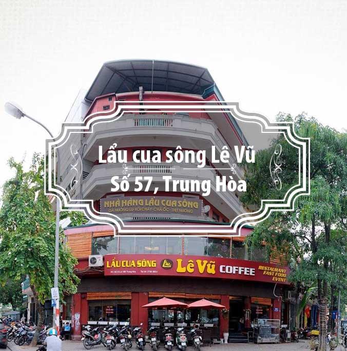 Lẩu cua sông Lê Vũ - Hương đồng nội giữa Thủ đô