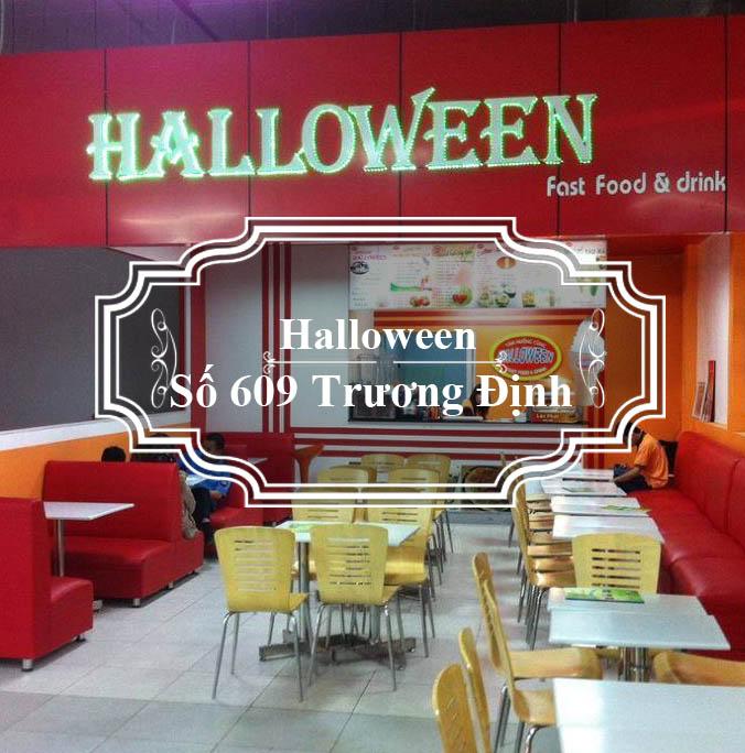 Halloween Fastfood & Drink tea
