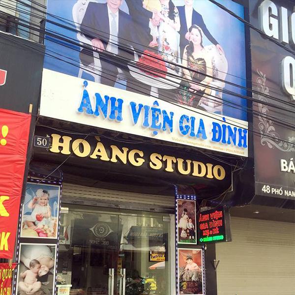 Hoàng Studio - Ảnh viện chụp ảnh gia đình hàng đầu Hà Thành
