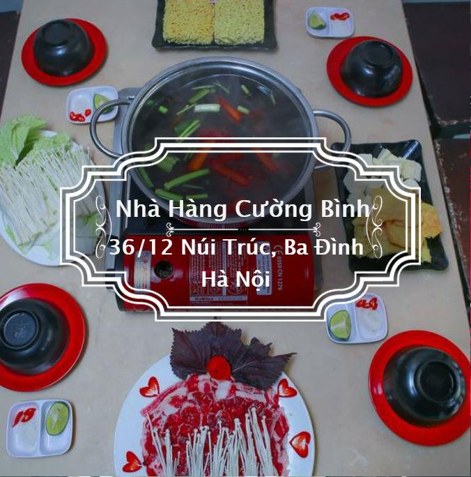 Nhà hàng Cường Bình - Đệ nhất lẩu nướng, cơm ngon thuần Việt
