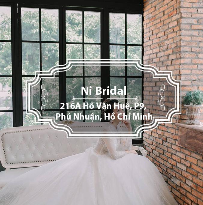 Ni Bridal - Nơi lưu giữ hình ảnh hạnh phúc lứa đôi